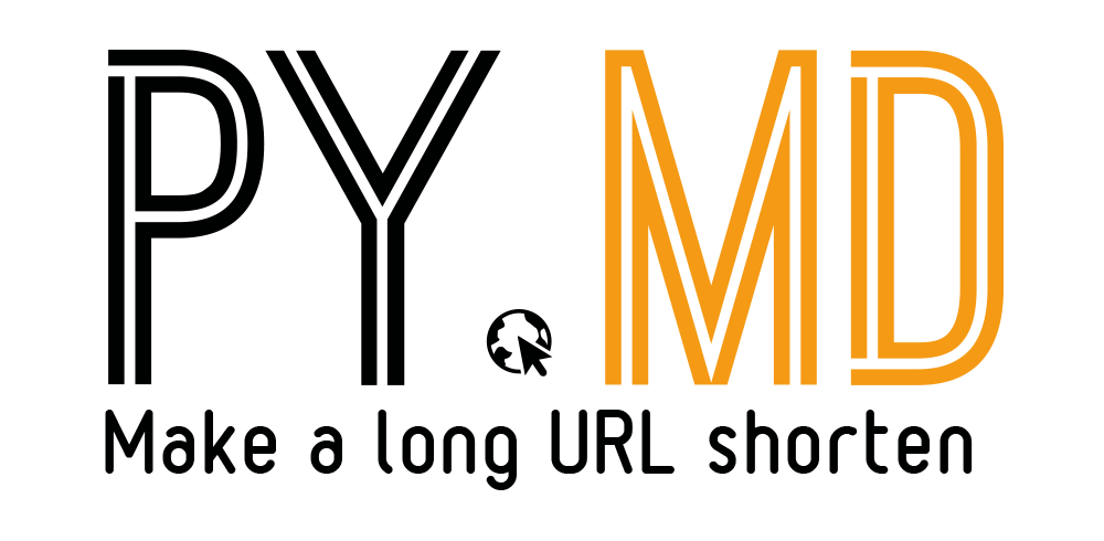 Make a long URL shorten with py.md
